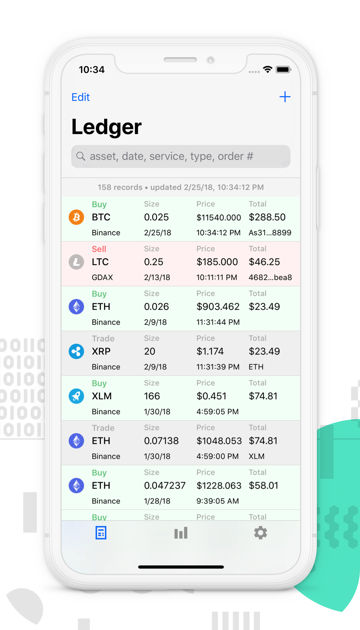 Ledger Manager iOS